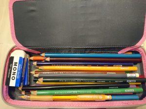 保育士試験造形色鉛筆